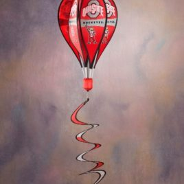 Ohio State Buckeyes | Hot Air Balloon Spinner