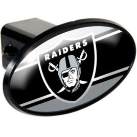 Oakland Raiders | Oval Trailer Hitch Cover