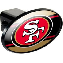San Francisco 49Ers | Oval Trailer Hitch Cover