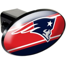 New England Patriots | Oval Trailer Hitch Cover