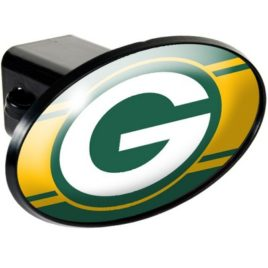Green Bay Packers | Oval Trailer Hitch Cover