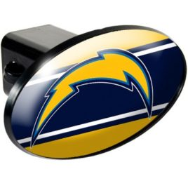 San Diego Chargers | Oval Trailer Hitch Cover
