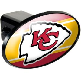 Kansas City Chiefs | Oval Trailer Hitch Cover