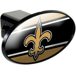 New Orleans Saints | Oval Trailer Hitch Cover