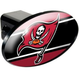 Tampa Bay Bucaneers | Oval Trailer Hitch Cover