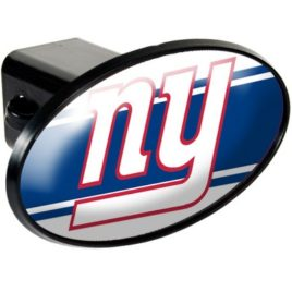 New York Giants | Oval Trailer Hitch Cover