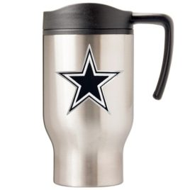 Dallas Cowboys | 16 oz. Stainless Steel Thermal Mug W/ Emblem