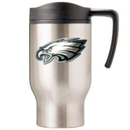 Philadelphia Eagles | 16 oz. Stainless Steel Thermal Mug W/ Emblem