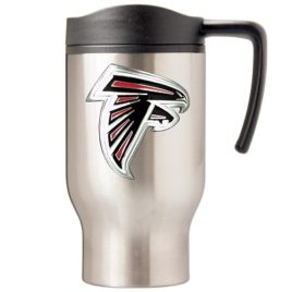 Atlanta Falcons | 16 oz. Stainless Steel Thermal Mug W/ Emblem