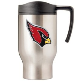 Arizona Cardinals | 16 oz. Stainless Steel Thermal Mug W/ Emblem