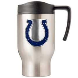 Indianapolis Colts | 16 oz. Stainless Steel Thermal Mug W/ Emblem