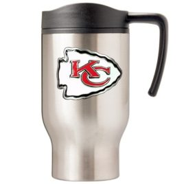 Kansas City Chiefs | 16 oz. Stainless Steel Thermal Mug W/ Emblem