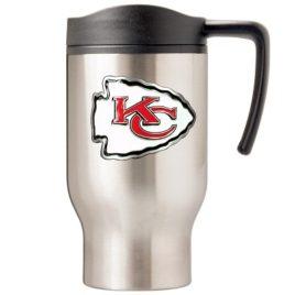 Kansas City Chiefs | 16 oz. Stainless Steel Thermal Mug W/ Emblem