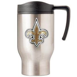 New Orleans Saints | 16 oz. Stainless Steel Thermal Mug W/ Emblem