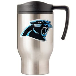 Carolina Panthers | 16 oz. Stainless Steel Thermal Mug W/ Emblem