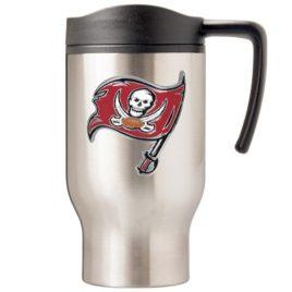 Tampa Bay Bucaneers | 16 oz. Stainless Steel Thermal Mug W/ Emblem