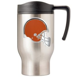 Cleveland Browns | 16 oz. Stainless Steel Thermal Mug W/ Emblem