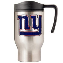 New York Giants | 16 oz. Stainless Steel Thermal Mug W/ Emblem