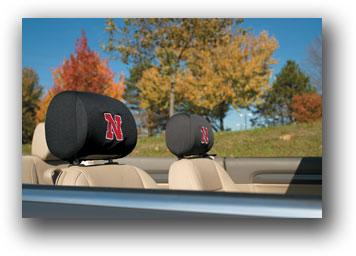 Nebraska Cornhuskers | Headrest Covers Set Of 2