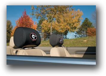 Georgia Bulldogs | Headrest Covers Set Of 2