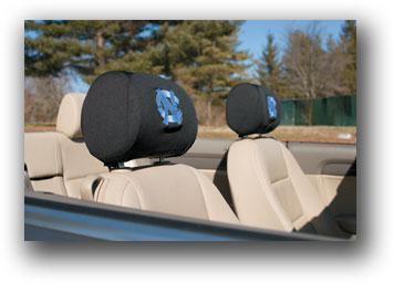 North Carolina Tar Heels | Headrest Covers Set Of 2