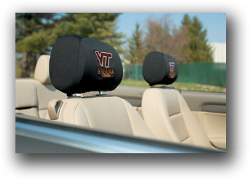 Virginia Tech Hokies | Headrest Covers Set Of 2