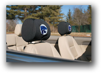 Kansas State Wildcats | Headrest Covers Set Of 2