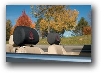 Oklahoma Sooners | Headrest Covers Set Of 2