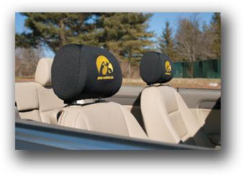 Iowa Hawkeyes | Headrest Covers Set Of 2