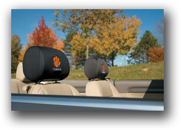 Clemson Tigers | Headrest Covers Set Of 2