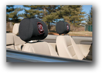South Carolina Gamecocks | Headrest Covers Set Of 2