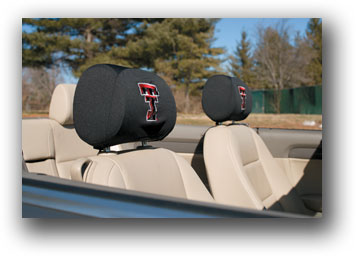 Texas Tech Red Raiders | Headrest Covers Set Of 2