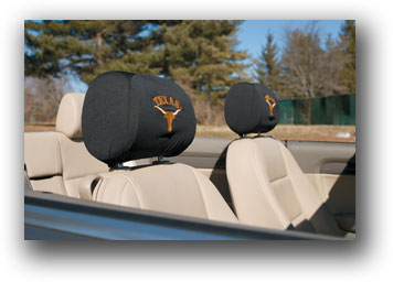 Texas Longhorns | Headrest Covers Set Of 2