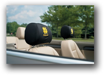 Notre Dame | Headrest Covers Set Of 2
