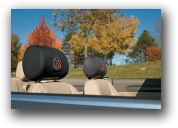 Auburn Tigers | Headrest Covers Set Of 2