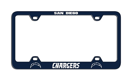 San Diego Chargers | Laser License Plate Frame