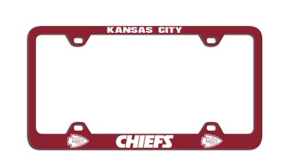 Kansas City Chiefs | Laser License Plate Frame