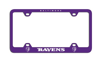 Baltimore Ravens | Laser License Plate Frame