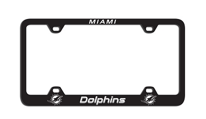 Miami Dolphins | Laser License Plate Frame