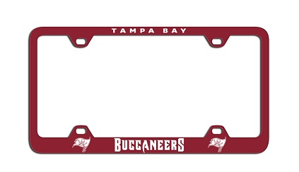 Tampa Bay Buccaneers | Laser License Plate Frame