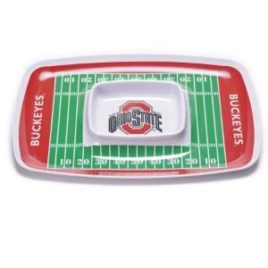 Ohio State Buckeyes | Chip & Dip Tray