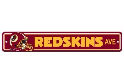 Washington Redskins | Plastic Street Sign