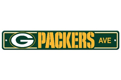 Green Bay Packers | Plastic Street Sign