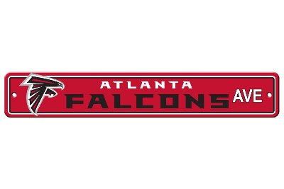 Atlanta Falcons | Plastic Street Sign