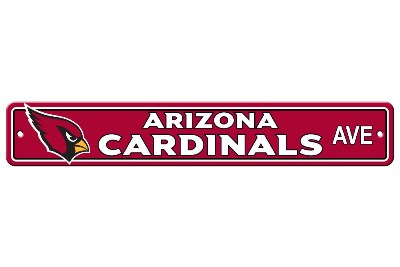 Arizona Cardinals | Plastic Street Sign