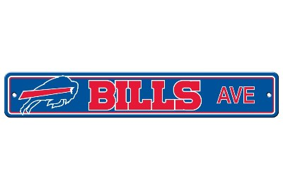 Buffalo Bills | Plastic Street Sign
