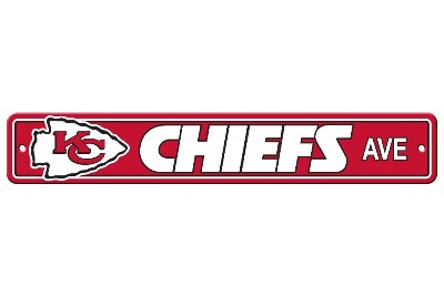 Kansas City Chiefs | Plastic Street Sign