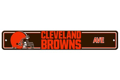 Cleveland Browns | Plastic Street Sign
