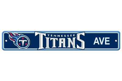 Tennessee Titans | Plastic Street Sign