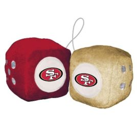 San Francisco 49er's | Fuzzy Dice